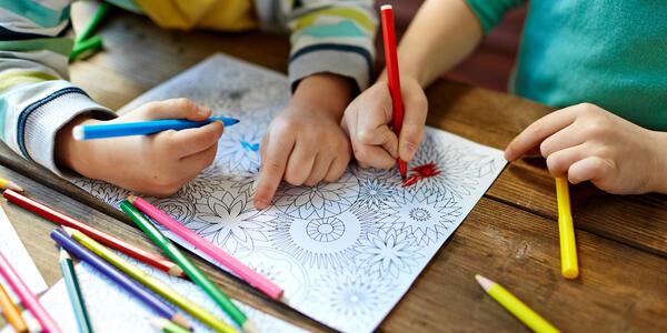 Kids Coloring (Photo: Pressmaster/Shutterstock)