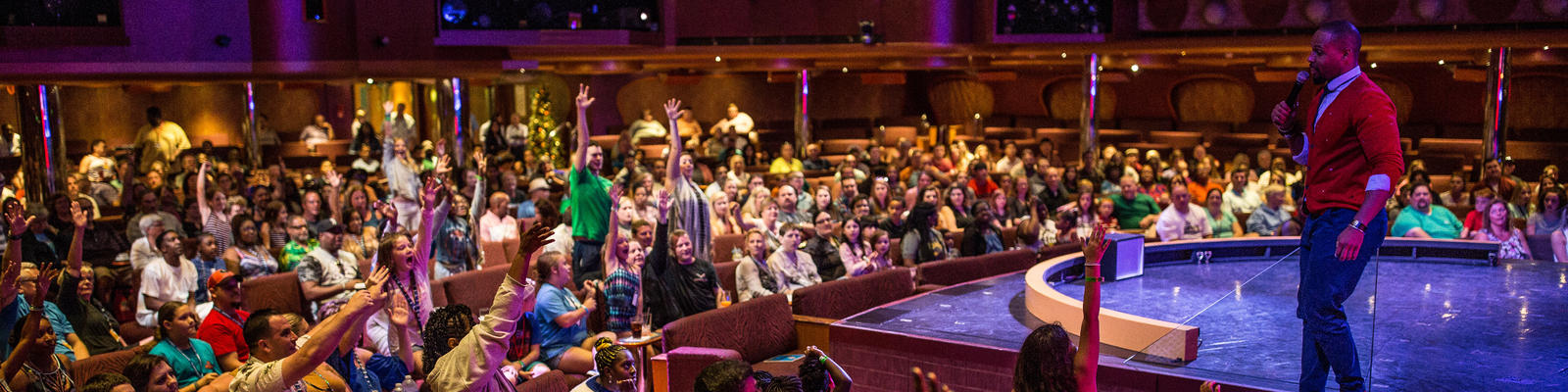 Cruise directors are in charged of passenger activities and entertainment on a cruise ship (Photo: Carnival Cruise Line)