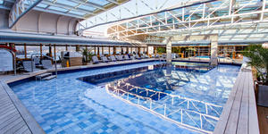 Lido Pool on Eurodam (Photo: Cruise Critic)