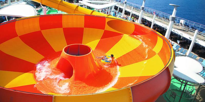 Epic Plunge on Norwegian Epic (Photo: Norwegian Cruise Line)
