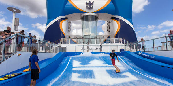 FlowRider on Anthem of the Seas (Photo: Cruise Critic)