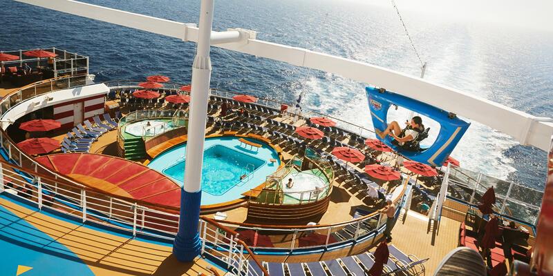 Carnival Vista's Sky Ride (Photo: Carnival)