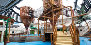 Forest Aquaventure Park on MSC Seaside (Photo: Cruise Critic)