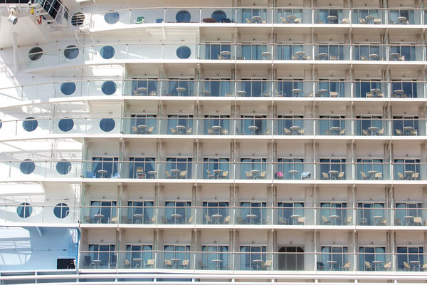 Ship Exterior on Allure of the Seas (Photo: Cruise Critic)