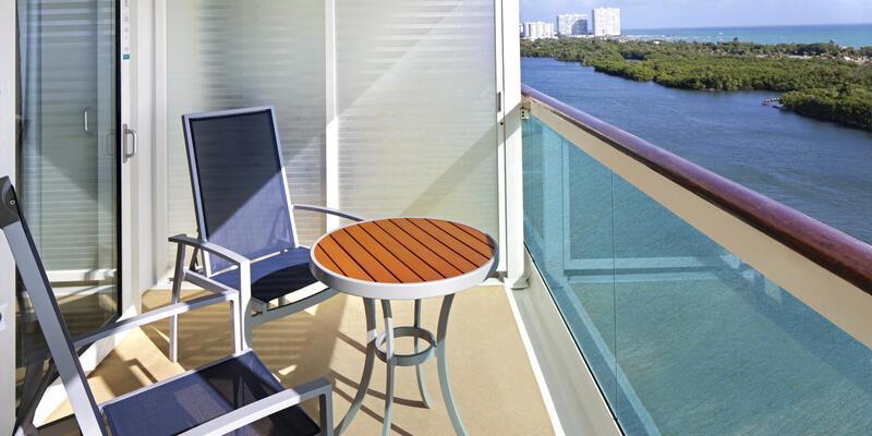 Ocean View Balcony on Royal Caribbean (Photo: Royal Caribbean)