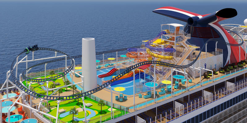 SportSquare on Carnival Mardi Gras (Image: Carnival Cruise Line)