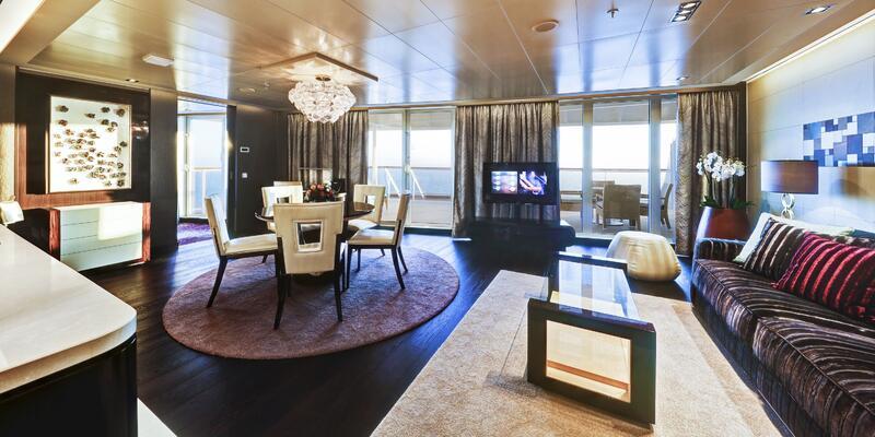 Deluxe Owner's Suites on the Norwegian Escape (Photo: Norwegian Cruise Line)