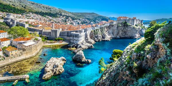 Dubrovnik Cityscape on Adriatic Coast, Croatia (Photo: Dreamer4787/Shutterstock)