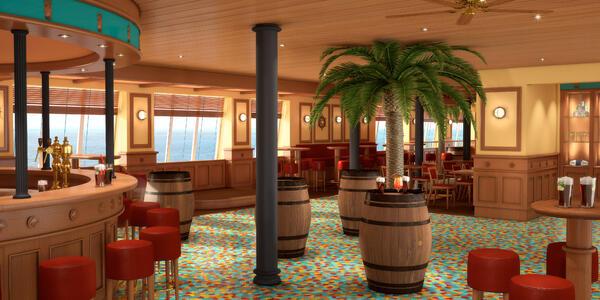The RedFrog Pub on Carnival Sunrise (Photo: Carnival Cruises)