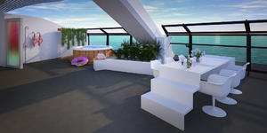 Scarlet Lady's Balcony Cabin (Photo: Virgin Voyages)
