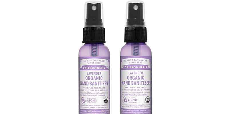 Dr. Bronner's Organic Lavender Hand Sanitizer (Photo: Amazon)