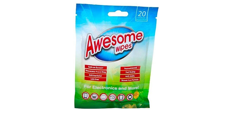 Awesome Wipes Antibacterial Screen Wipes (Photo: Amazon)