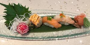 Sushi dish on Marella Cruises