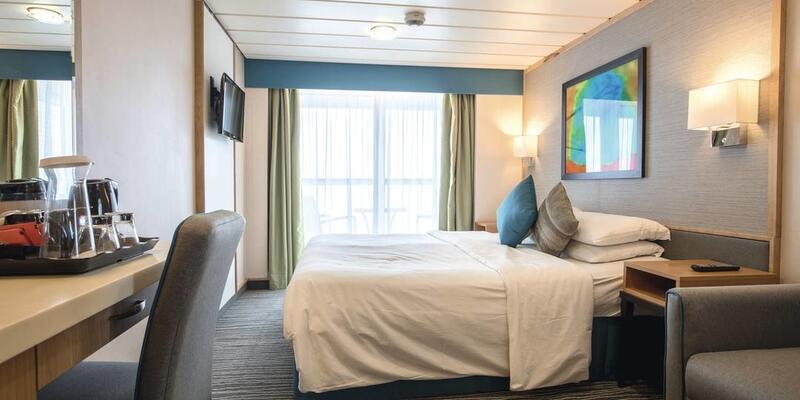 Marella Discovery's Deluxe Balcony (Photo: Marella Cruises)