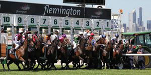 (Melbourne Cup) Flemington Racecourse in Melbourne, Victoria (Photo: Neale Cousland/Shutterstock)
