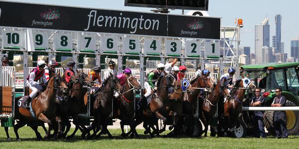 (Melbourne Cup) Flemington Racecourse in Melbourne, Victoria (Photo: Neale Cousland/Shutterstock)