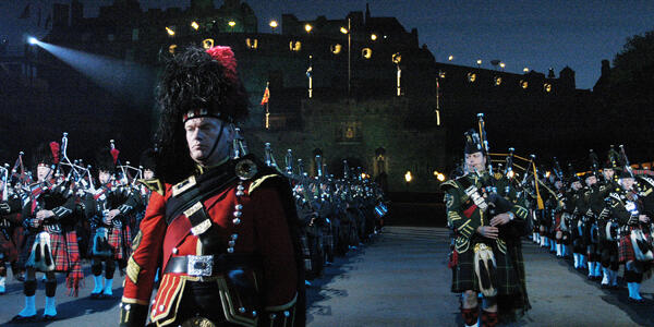 Pipes and Drums at the Edinburgh Military Tattoo (Photo: domhnall dods/Shutterstock)