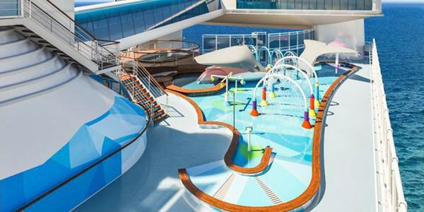 Slash Zone on Caribbean Princess (Photo: Princess Cruise Line)