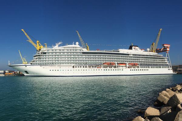 Viking Jupiter delivered to Viking Ocean Cruises (Photo: Fincantieri)
