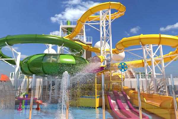 Carnival Splendor WaterWorks