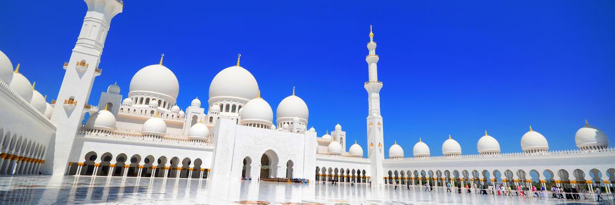 Grand Mosque Sheikh Zayed (Photo: Panuvat Ueachananon/Shutterstock)