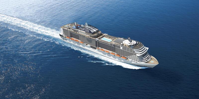MSC Meraviglia (Photo: MSC Cruises)