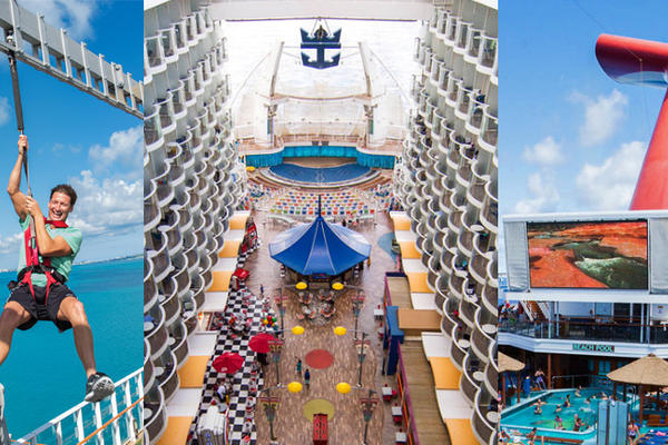 Compare: 10 Most Popular Cruise Ships