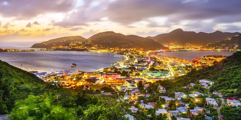Aerial view of St. Maarten (Photo: Sean Pavone/Shutterstock)
