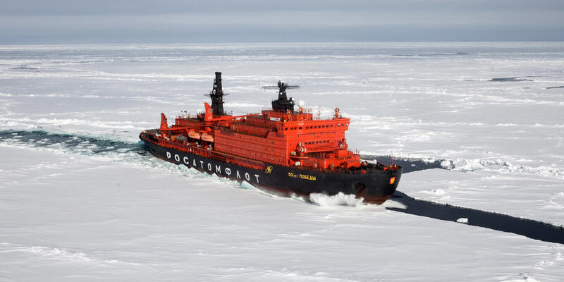 50 Years of Victory on its North Pole Expedition (Photo: Quark Expeditions)