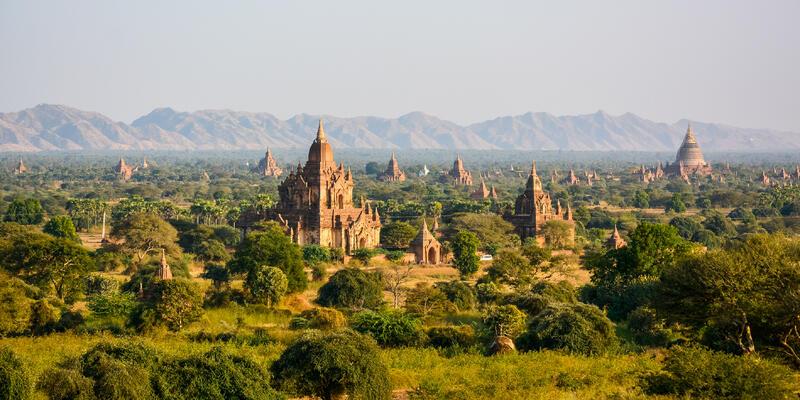 Bagan (Photo:Jakob Fischer/Shutterstock)