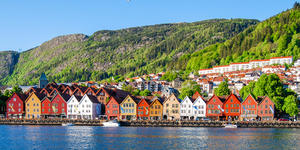 Bergen (Photo:Mark_and_Anna_Wilson/Shutterstock)