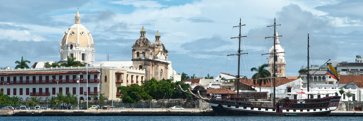Cartagena (Colombia) (Photo:rocharibeiro/Shutterstock)