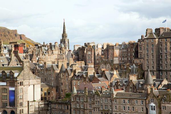 Edinburgh (Photo:Johannes Valkama/Shutterstock)