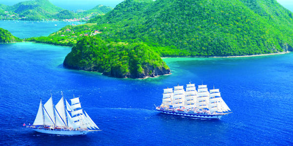 The Best Small Cruise Ship Lines (Photo: Star Clippers)