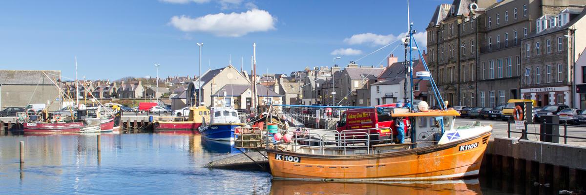 Kirkwall (Photo:johnbraid/Shutterstock)