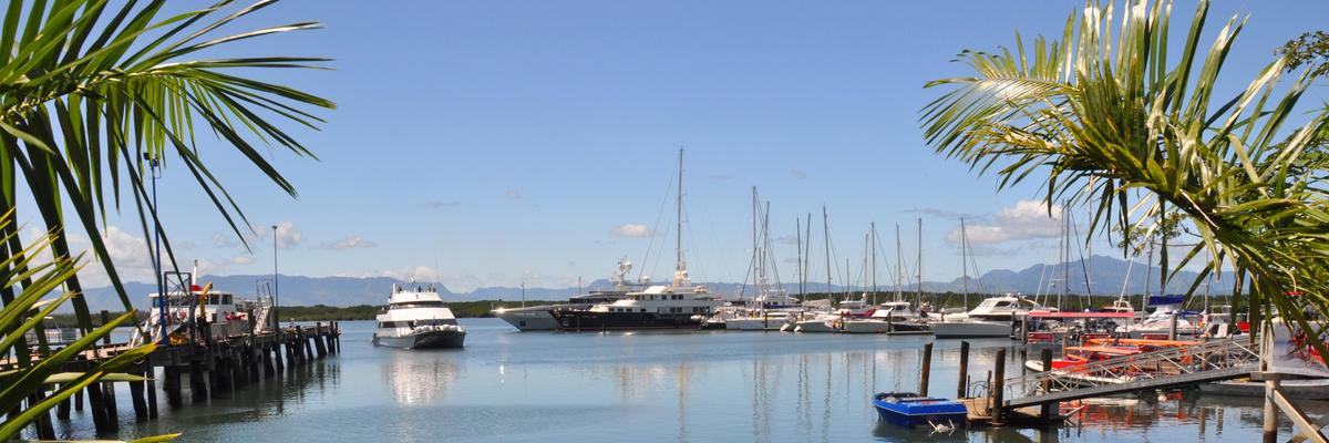 Port Denarau (Photo:NigelSpiers/Shutterstock)