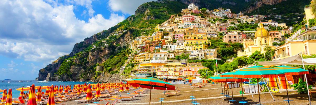 Positano (Amalfi) (Photo:lukaszimilena/Shutterstock)