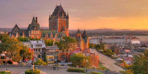 Quebec City, Quebec (Photo:mervas/Shutterstock)