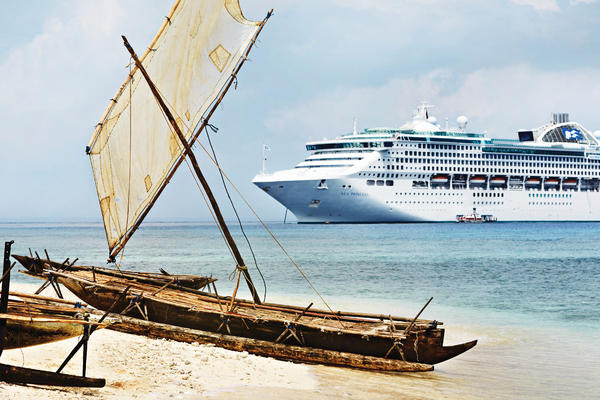 Sea Princess on a World Cruise (Photo: Princess Cruises)
