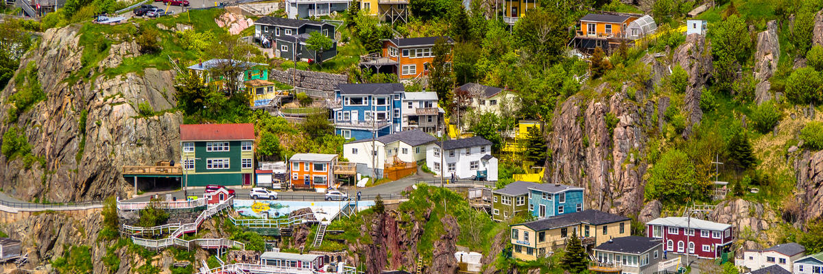 St. John's (Newfoundland) (Photo:Jarmo Piironen/Shutterstock)
