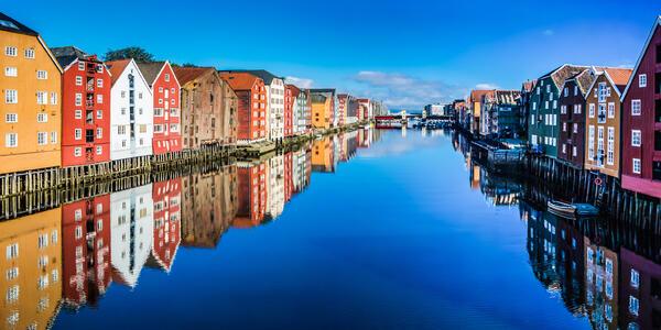 Trondheim (Photo:Mikhail Varentsov /Shutterstock)