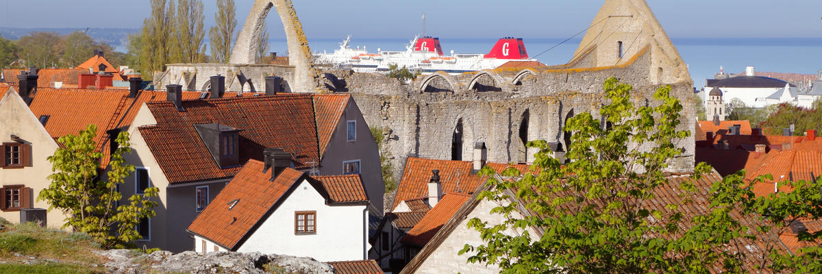 Visby (Photo:Roland Magnusson/Shutterstock)