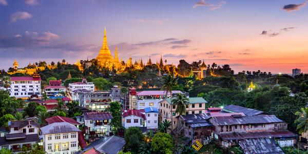 Yangon (Rangoon) (Photo:Sean Pavone/Shutterstock)