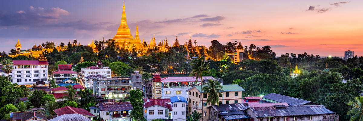 Yangon (Rangoon) (Photo:Sean Pavone/Shutterstock)