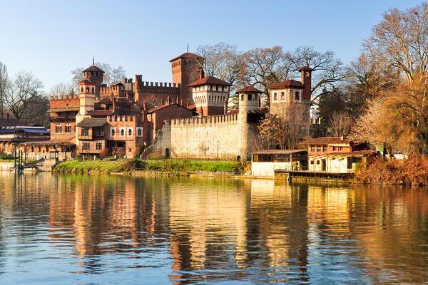 Turin, Italy along the Po River (Photo: ROBERTO ZILLI/Shutterstock)