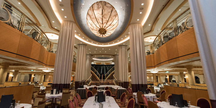 Brilliance Of The Seas Dining Restaurants Amp Food On Cruise Critic
