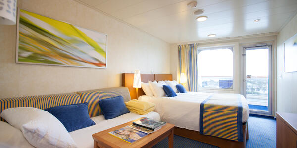 Carnival Breeze Cabins