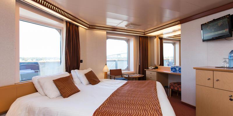The Premium Vista Balcony Cabin on Carnival Dream (Photo: Cruise Critic)