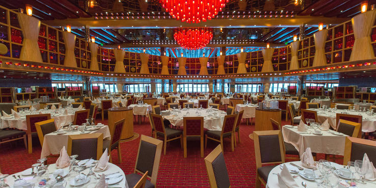 Carnival Dream Dining: Restaurants & Food On Cruise Critic
