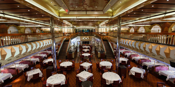 Carnival Glory Dining Restaurants Amp Food On Cruise Critic
